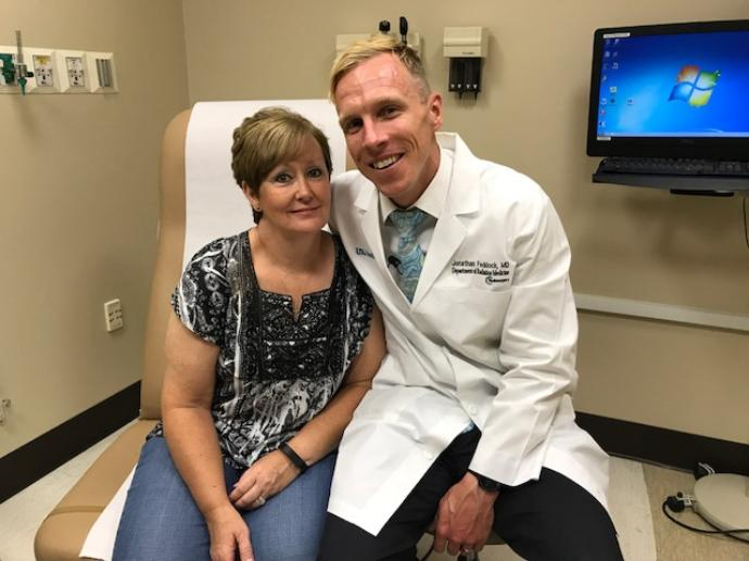 "WKYT: ""Lexington cancer doctor saving women's lives"""