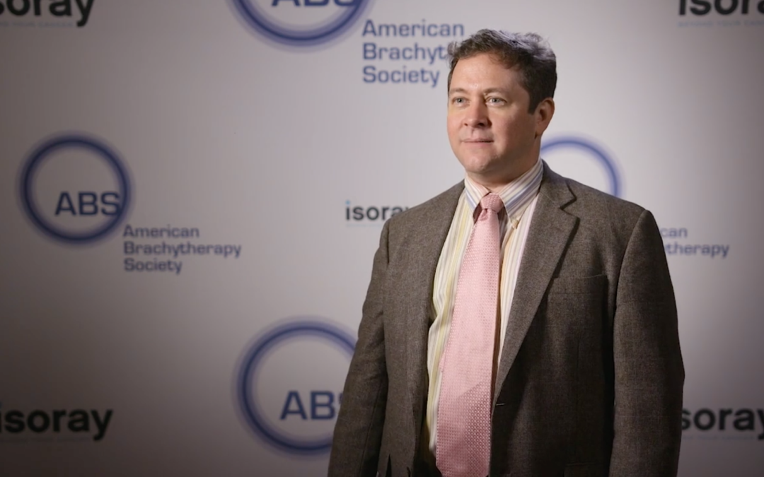 Advantageous biological effect, Cesium-131's short half-life, and new shielded or dynamically modulated sources: Dr. Mark Rivard's thoughts on brachytherapy from ABS 2018